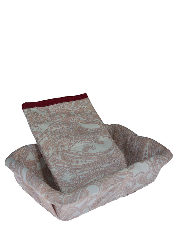 Rectangle (11 x 8 inches) Roti / Food Basket  & Soft Cloth