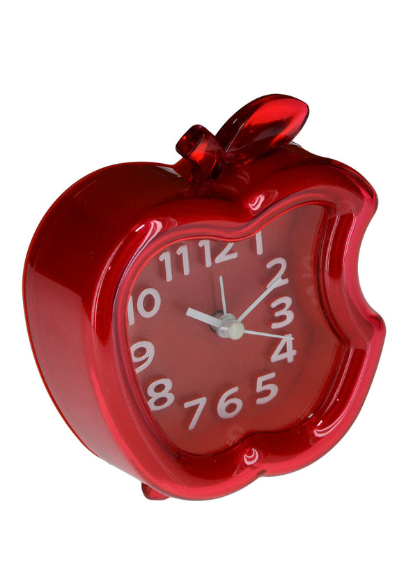 Apple Design Alarm & Table Clock 4.5 X 4 inches