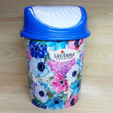 Lavena Medium Size Plastic Dust & Waste-Bin With Cover