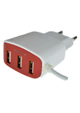 United Type-C 2.1 Ampere Fast Charging US-L6C Mobile Charger (With 3 Extra USB Ports)