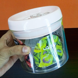 Limon Super Air-Tight 850 ml Acrylic Plastic Jar ( Random Color )