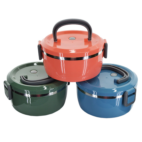 Stainless Steel Air-Tight 900ml Lunch & Tiffin Box