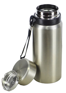 Yuneng Silver Stainless Steel 750ml Water Bottle