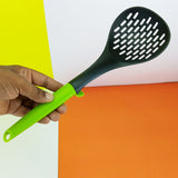 Non-Stick Plastic Medium-Size Strainer Spatula ( Random Colors )