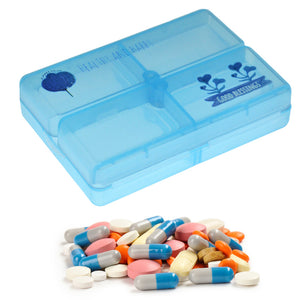 Plastic Medicine Storage Box ( 7 Days Partitions )