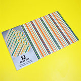 Pack Of 12 Dinning & Tea Mats (18 x 12 inches)
