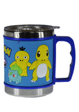 Pokemon Stainless Steel Mug With Transparent Cover