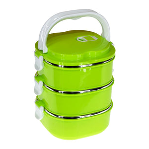 Dondonka 3-Layered 2500ml Stainless Steel Lunch / Tiffin Box