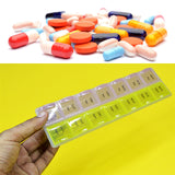 2-Week Plastic Medicine Pill Organizing Storage Box ( 14 Days Partitions )