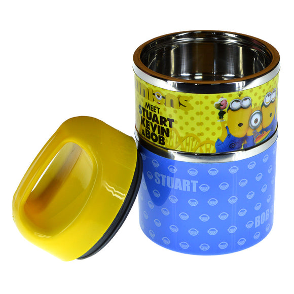 Minions Two Layers 930ml Stainless Steel Lunch / Tiffin Box