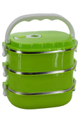 Three Layered 2700ml Stainless Steel Lunch / Tiffin Box
