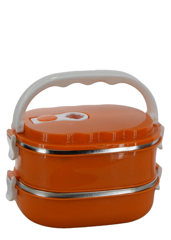 Two Layered 1800ml Stainless Steel Lunch / Tiffin Box