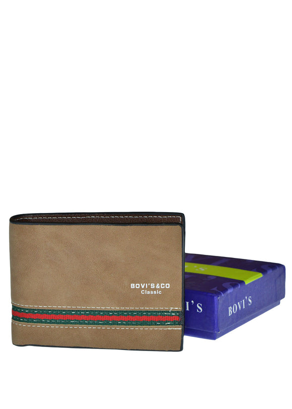 Bovi's & Co Fashion Leather Wallet For Men