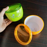 Huihuang Multi-Purpose Small-Size 390ml Acrylic Plastic Air-Tight Storage Jar