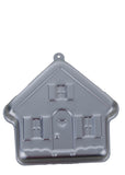 House Shape Silver 9 X 8 inches Cake Mould