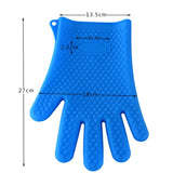 1pc Silicon Heat Resistant Kitchen Hand Glove ( Single Piece)