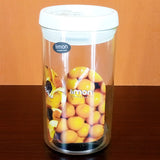 Limon Super Air-Tight 1.9-Litre Acrylic Plastic Jar ( Random Color )