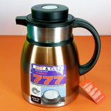Full Stainless Steel 1.2-Litres Tea / Coffee Thermal / Vaccuum Flask