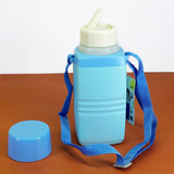 Apollo Hunter Kids Plastic 950ml School Water Cooler & Thermos With Straw
