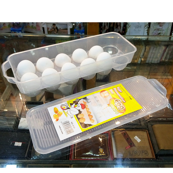 Egg Preservation Storage Fridge Box Imported Quality ( 12pcs Placement )