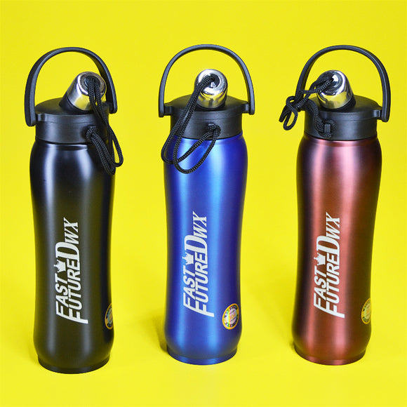 Fast Future Stainless Steel 750ml  Water Bottle