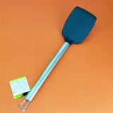 Non-Stick Plastic Medium-Size Spatula With Stainless Steel Handle