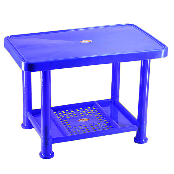 Fello Multi-Purpose 2-Layered Kids Plastic Study Table