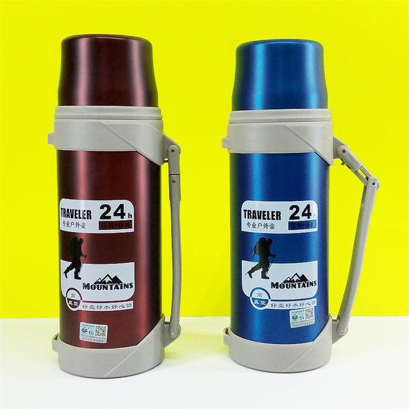 Diwangxin Stainless Steel 1200ml Insulated  Water Bottle & Flask