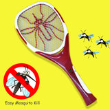 Sogo Rechargeable Mosquito Killer Racket With Blue U.V Light