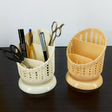 Multi-Purpose Round Small Size Stylish 3-Partition Storage Basket