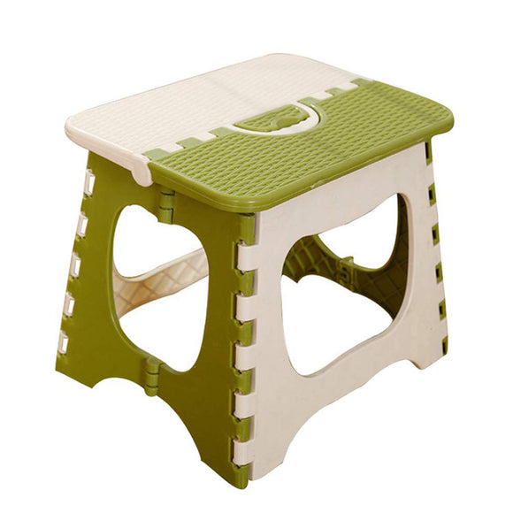 Portable Plastic Folding Step Stool Folding Small Bench