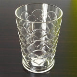 Aqua Diamond Acrylic Plastic Regular Use 300ml Glass One Piece