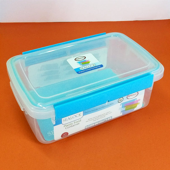 Phoenix Sea-Lock 3.1-Liters Transparent Plastic Air-Tight Storage Food Container