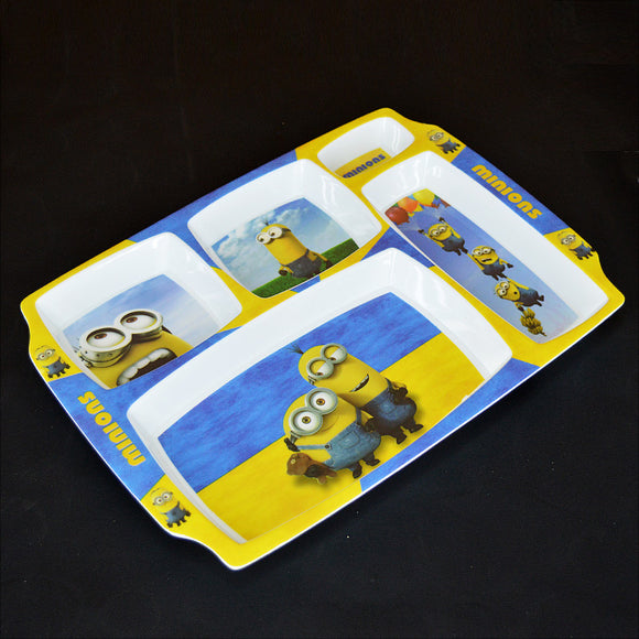 Minions Plastic Melamine 12 X 9 inches Platter Serving Tray