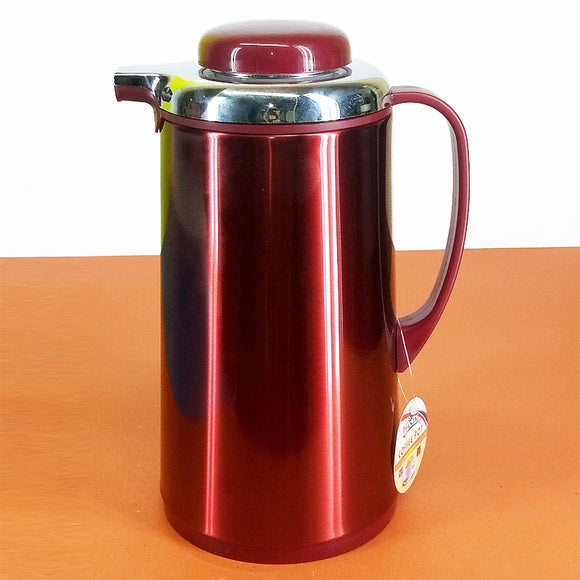 Panja 1-Litre Tea &  Coffee Thermal Flask Inside Glass