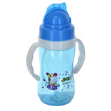 Baby Plastic 300ml Bottle With Nipple Straw