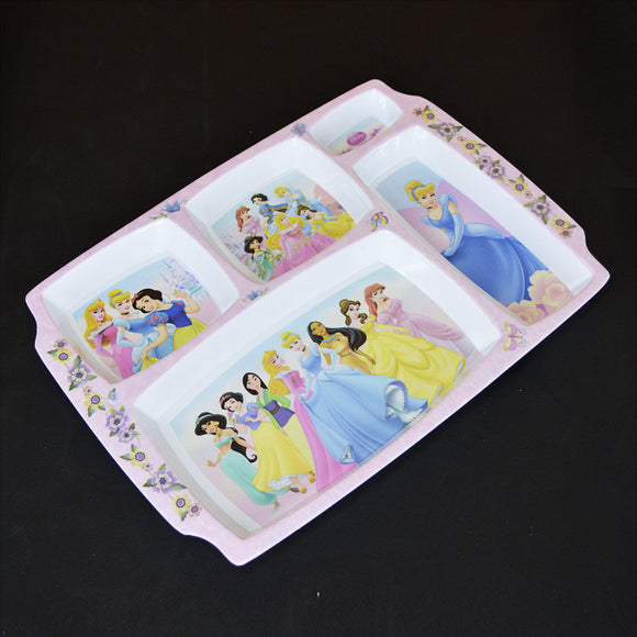 Barbie Plastic Melamine 12 X 9 inches Platter Serving Tray