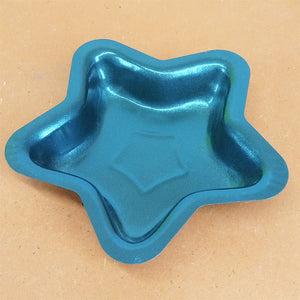 Star Shape Metal Small Size Cup Cake & Jelly Baking Mould