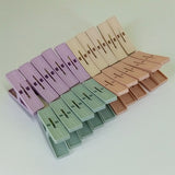 Pack Of 20pcs Plastic Medium Size Cloth Pegs