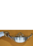Brite 34cm Silver Karahi With Top Cover