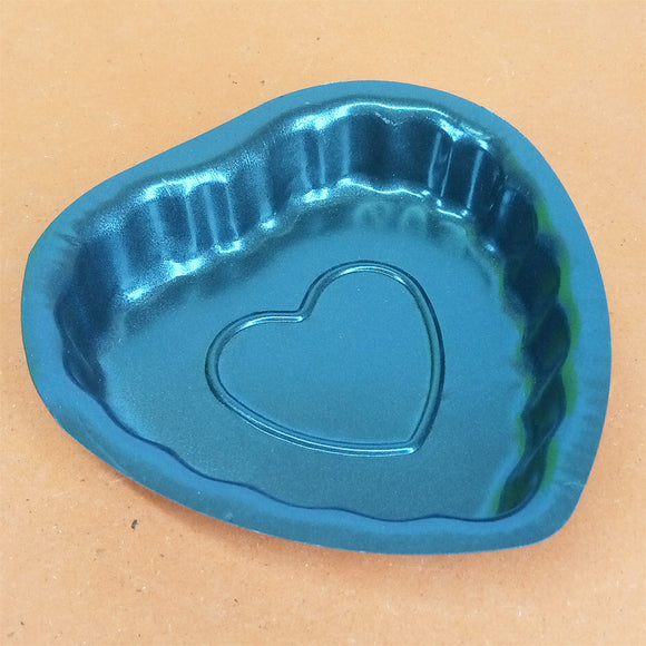 Heart Shape Metal Small Size Cup Cake & Jelly Baking Mould