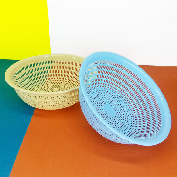 Modern Oval Medium Size Drain Plastic Basket