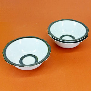Pack Of 6pcs Double Glazed Heavy Melamine Plastic Small Size 5.5 inches Dinning Piyali / Bowl