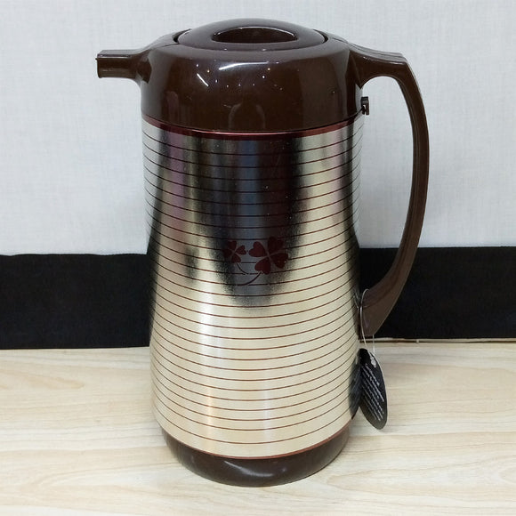 Deluxe 1-Litre Tea / Coffee Thermal Flask Inside Glass