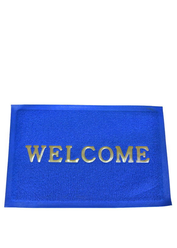 Welcome Water Proof Rubber Door / Foot Mat 22 X 14 inches
