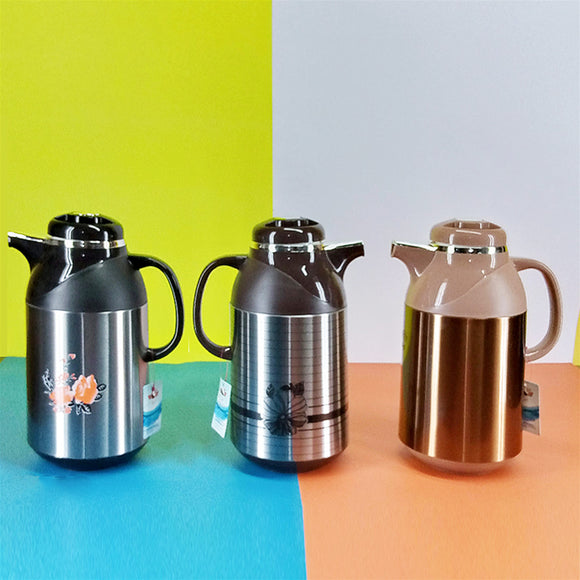 Eagle 1.9-Litres  Tea & Coffee Thermal Flask (Inside Glass)