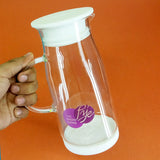 Pye Imported Quality 800ml Glass Oil Jug With Silicon Air-Tight Cap