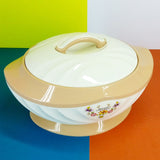 Novelty Large Size Stainless Steel Inside, Roti Hot Pot