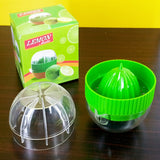 Mini Hand-Held Manual Plastic Lemon Juicer Squeezer