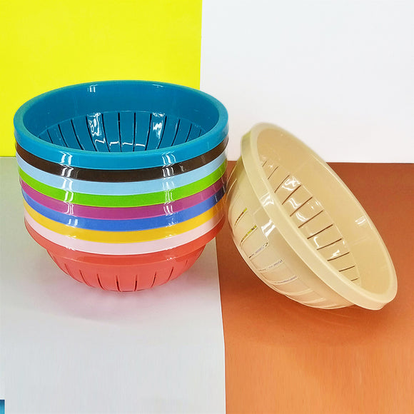 Meezan Multi-Purpose Plastic Round Drain Bowl